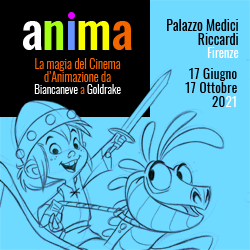 Anima. La magia del cinema di animazione. A Firenze, Palazzo Medici Riccardi, dal 17 giugno al 17 ottobre 2021