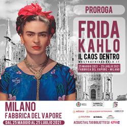 Frida Kahlo. Il caos dentro. A Milano, Fabbrica del Vapore, fino al 25 luglio 2021