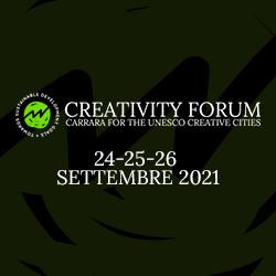 Creativity Forum Unesco - A Carrara il 24, 25 e 26 settembre