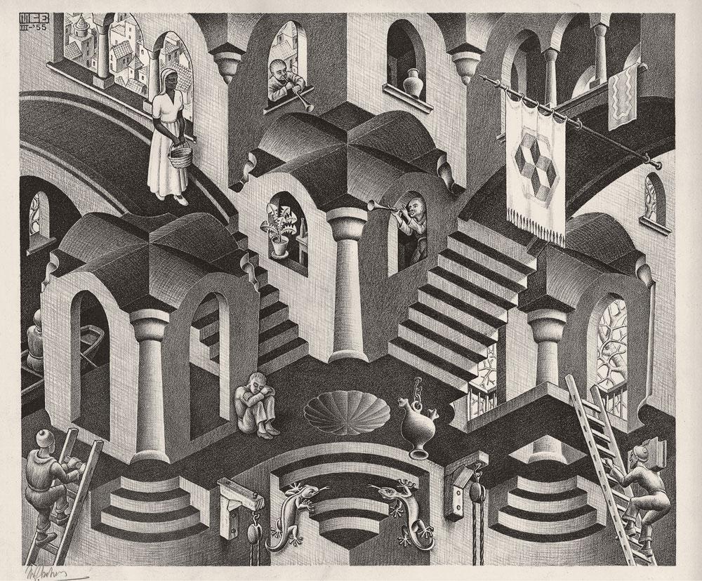 A Genova sta per arrivare la più grande e completa mostra su Escher