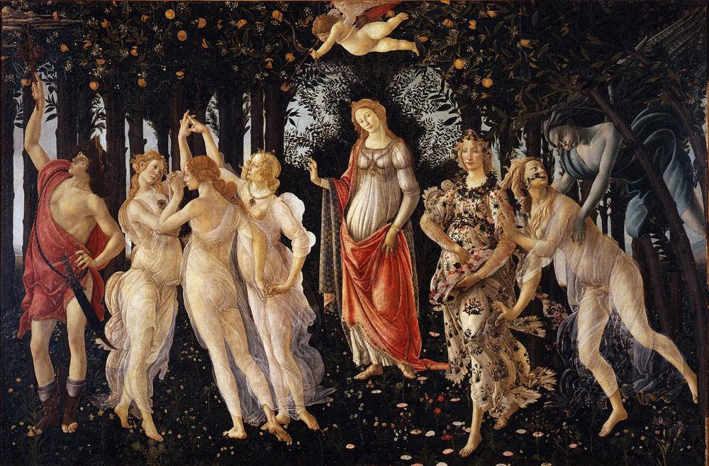 Le Specie Vegetali Della Primavera Di Sandro Botticelli
