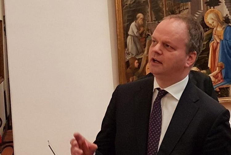 """Eike Schmidt: """"Agli Uffizi nessuno ha perso il lavoro, e le mostre saranno riprogrammate. Per Raffaello faremo il possibile"""""""