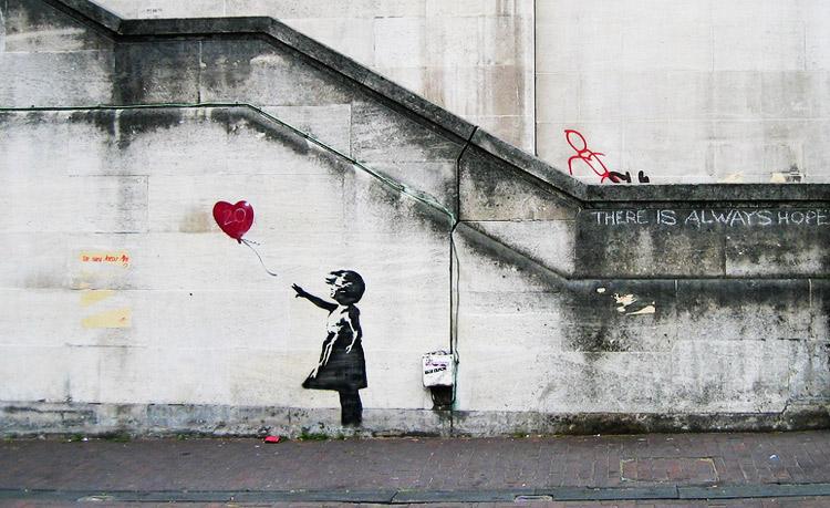 È la Balloon Girl di Banksy l'opera d'arte preferita dei britannici