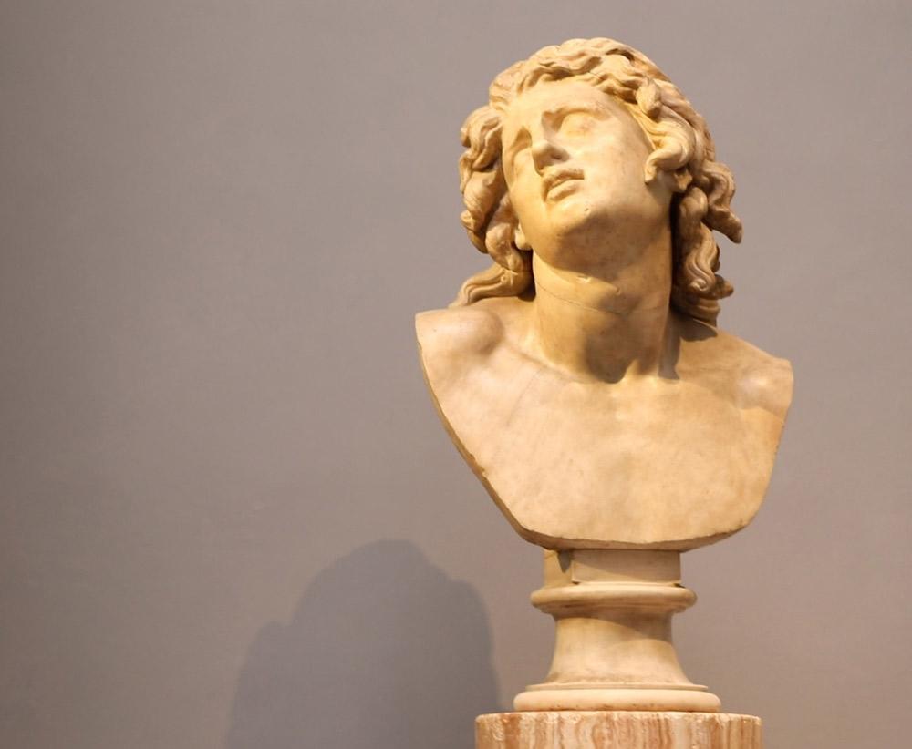 Alessandro morente. Ph. Credit Finestre sull'Arte