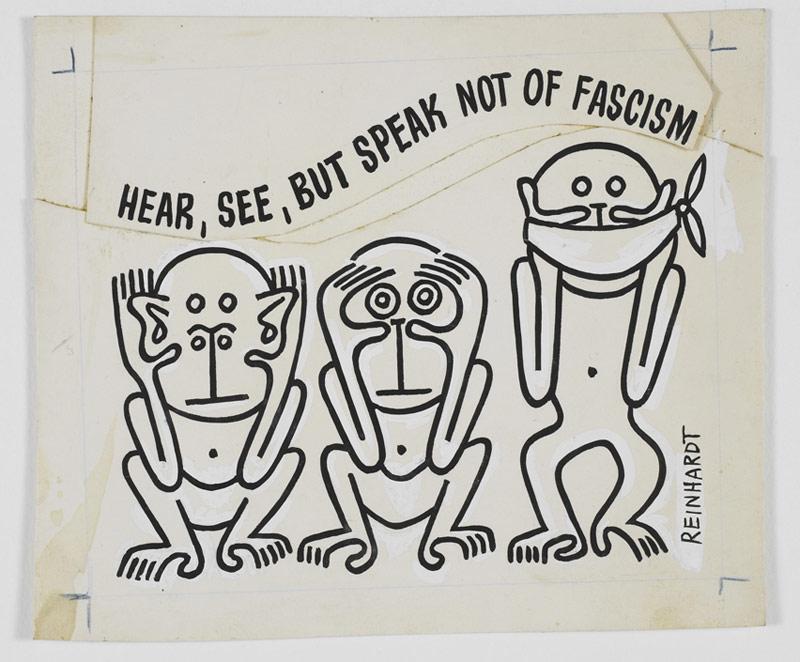 A Modena, la pungente satira di Ad Reinhardt in mostra per la prima volta in Italia