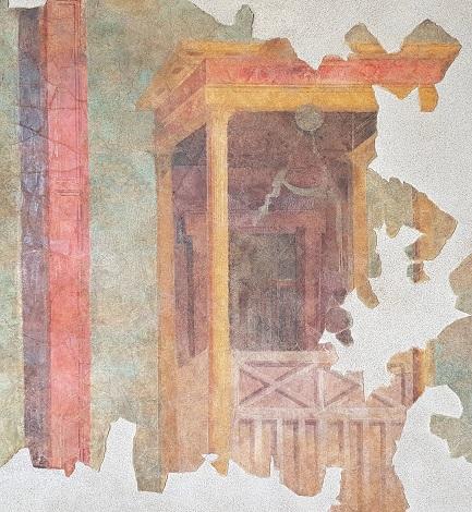 Una mostra dedicata ai restauri dell'affresco della villa romana di Settefinestre in Maremma