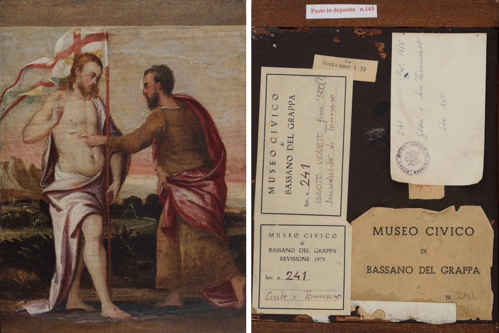 A Bassano, una mostra vi fa vedere il... retro delle opere d'arte, da Hayez a Canova e non solo
