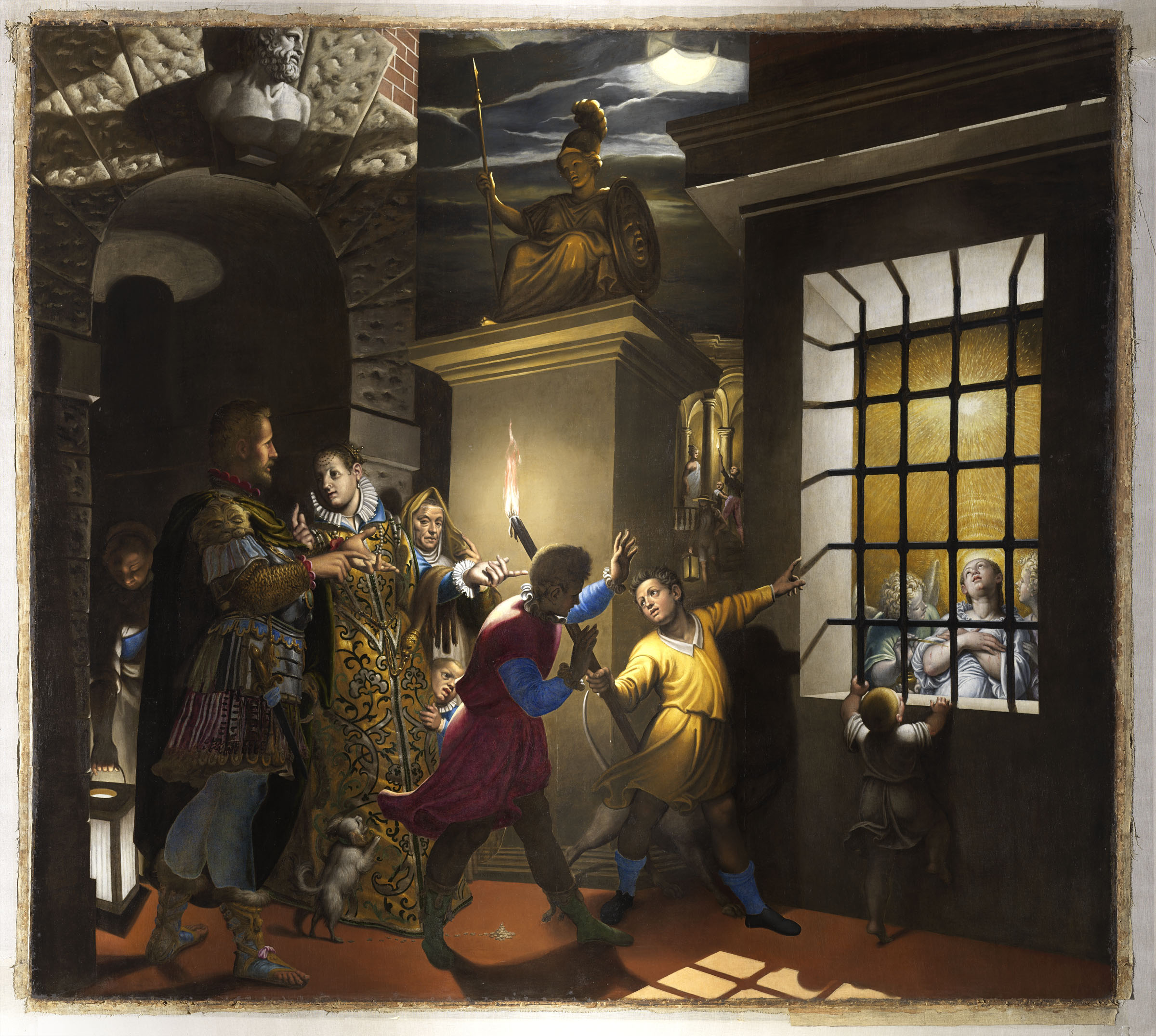 A Milano una mostra sul restauro del monumentale capolavoro di Antonio Campi che secondo Longhi ispirò Caravaggio