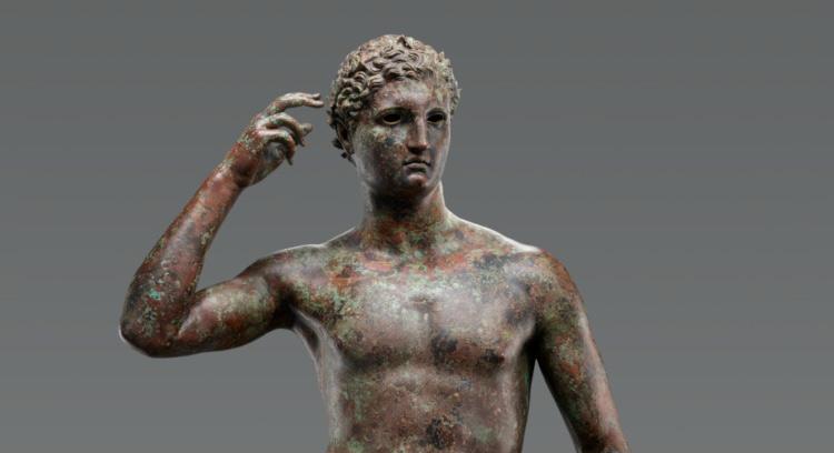 """Il ministro dei beni culturali Bonisoli: """"Il Getty Museum restituisca l'Atleta di Lisippo all'Italia"""""""