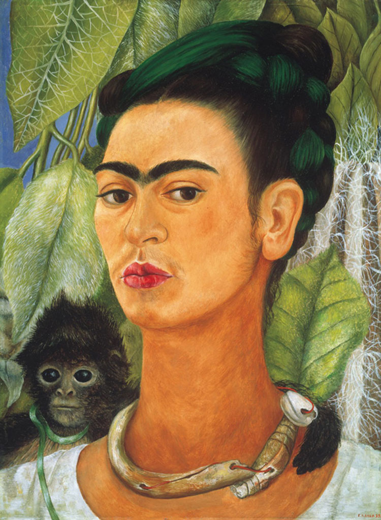Google presenta la prima collezione virtuale di opere di Frida Kahlo