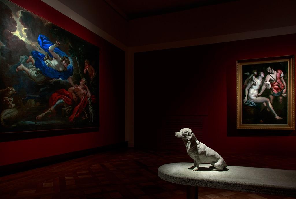 Alla Venaria Reale una mostra sui cani della storia dell'arte, dall'antichità a Keith Haring