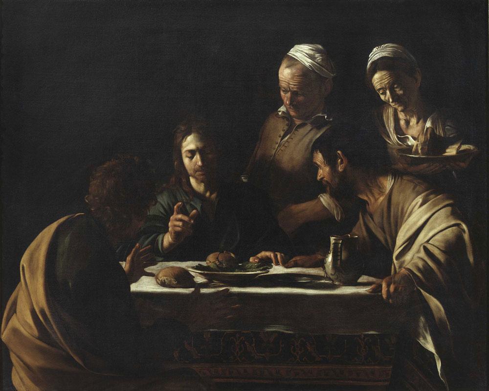 La Cena in Emmaus di Caravaggio è in viaggio verso Parigi