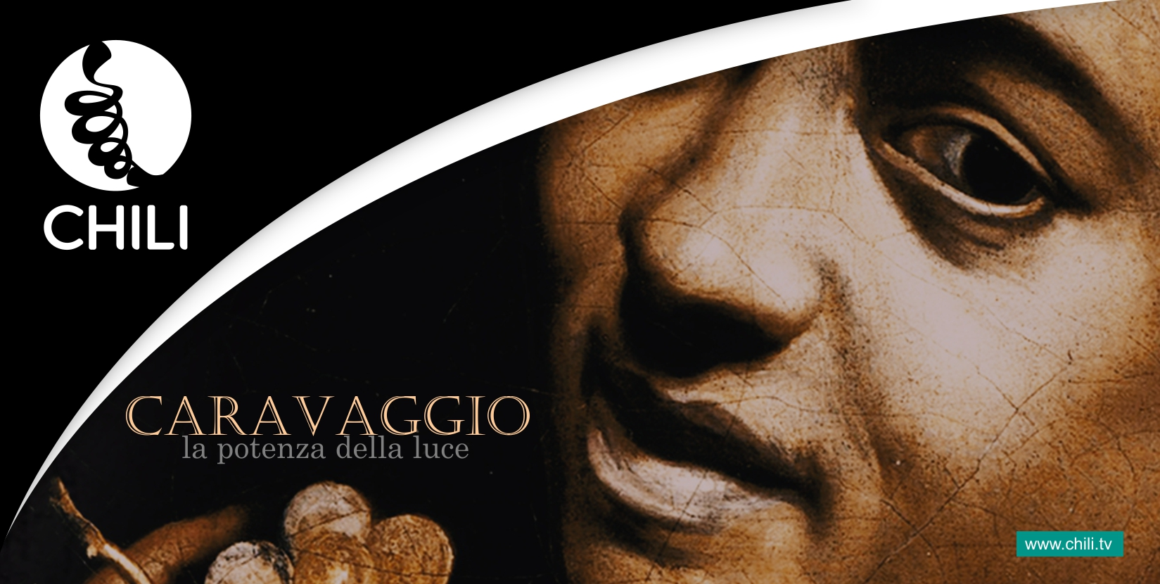 """Il documentario """"Caravaggio. La Potenza della Luce"""" approda su Chili"""