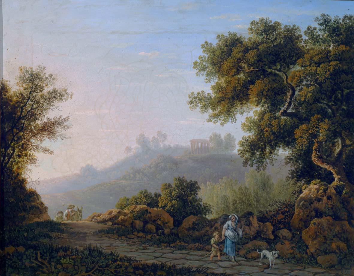 Montepulciano e Roma si confrontano nell'arte del Grand Tour. Una mostra alla Pinacoteca Crociani nella città toscana