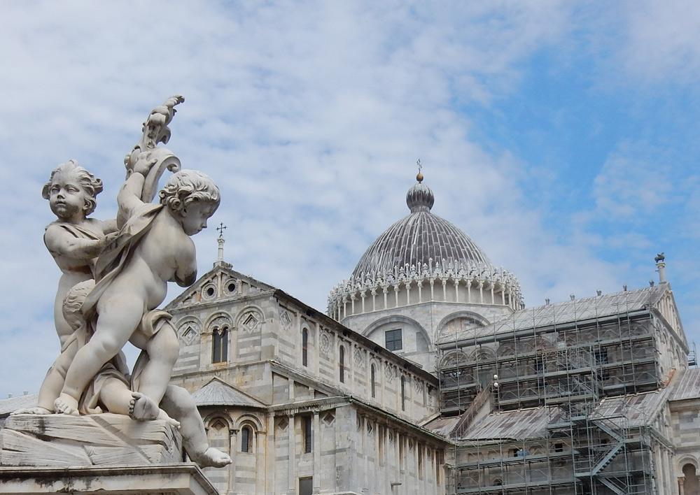 Cattedrale di Pisa, finisce il restauro del secondo lotto della testata absidale