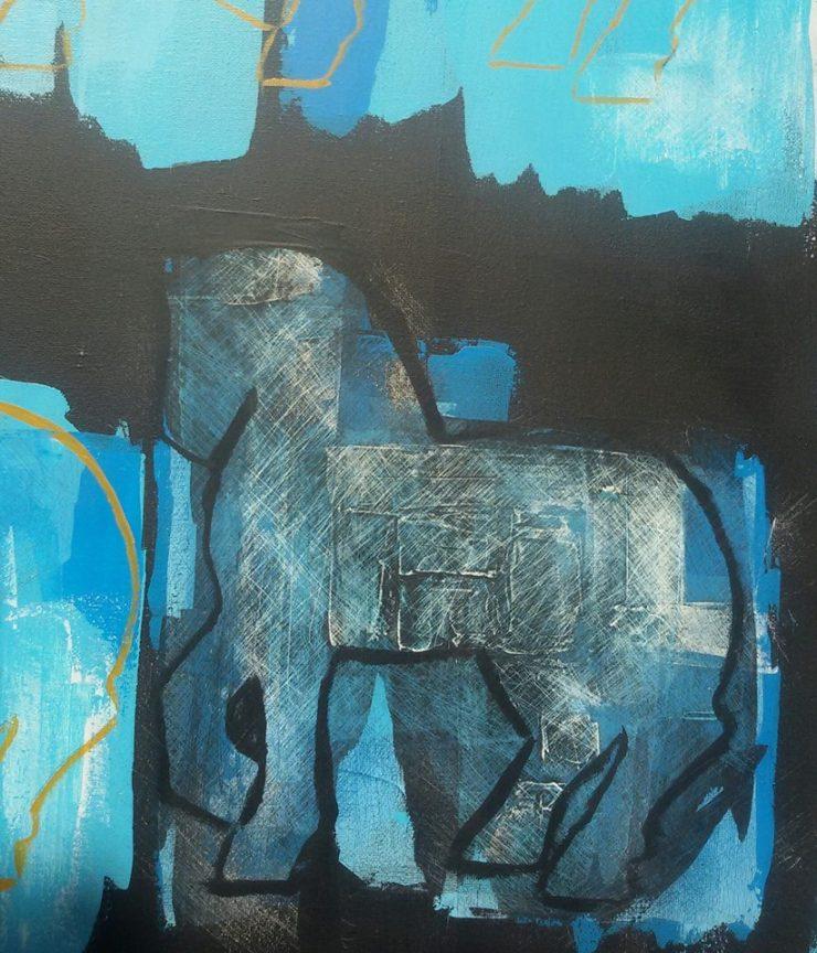 I cavalli di Massimo Stecchi protagonisti alla nuova mostra di ArteSiena
