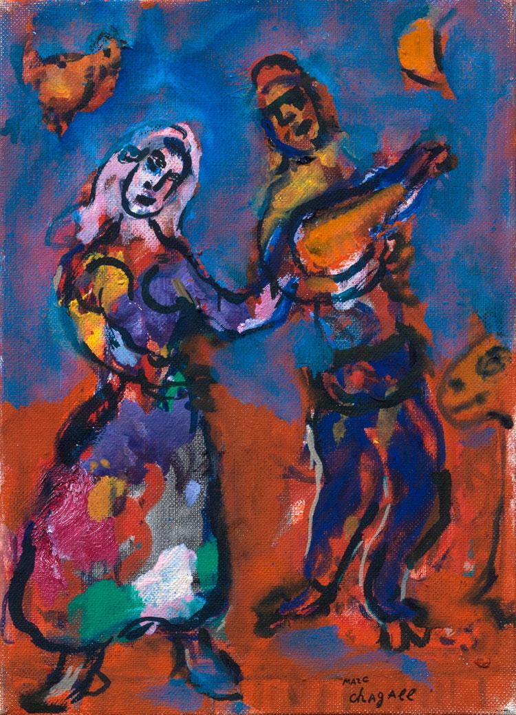 Marc Chagall. Le favole ed altre storie in mostra a Recanati
