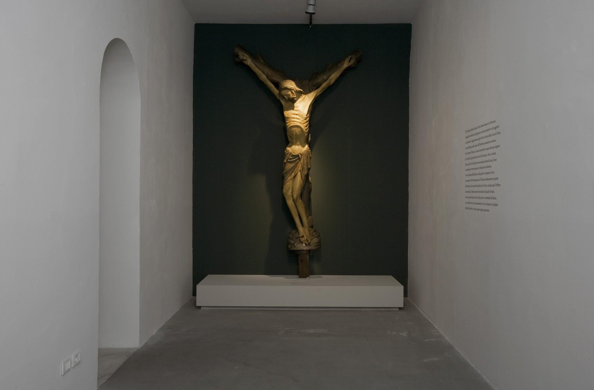 Pistoia, terminato intervento di restauro su crocifisso attribuito a Giovanni Pisano