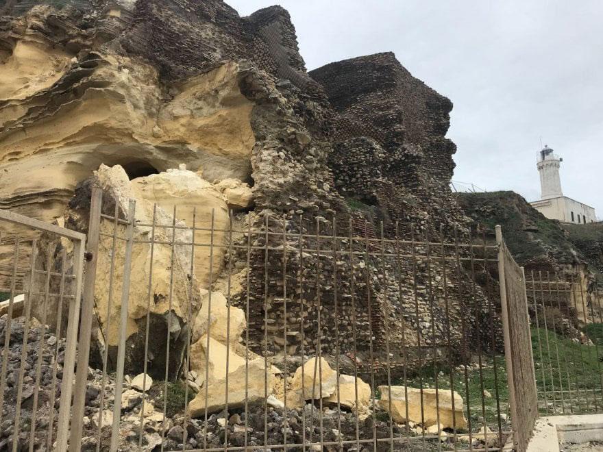 Villa di Nerone ad Anzio: crolli e degrado