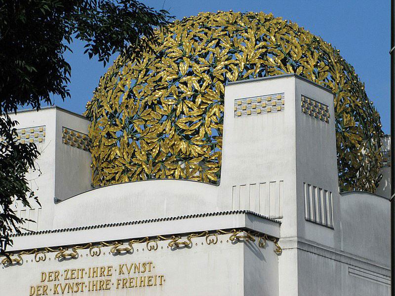 Vienna: furto alla cupola d'oro del Palazzo della Secessione
