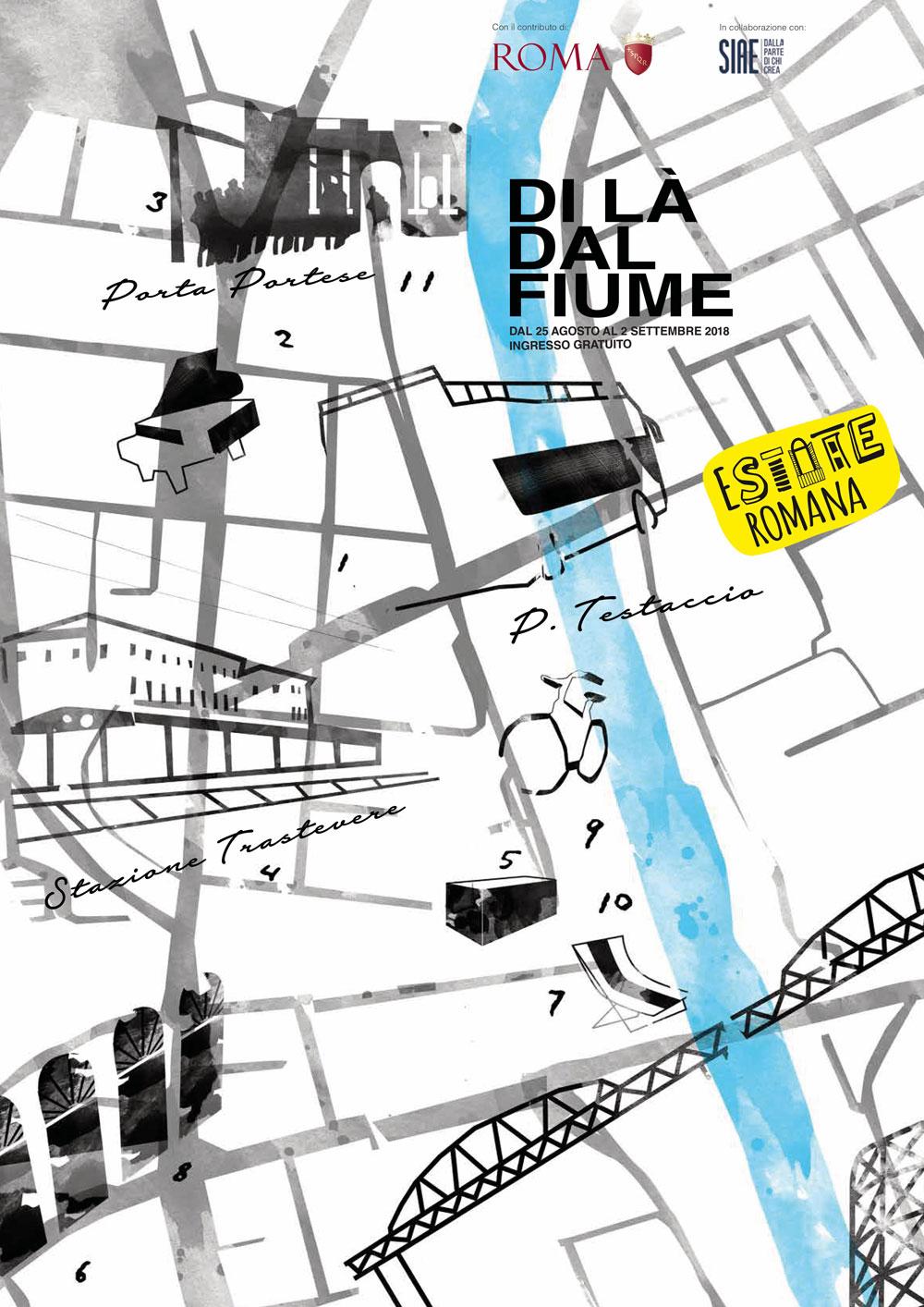14 eventi gratuiti in 11 location di Roma: in arrivo la prima edizione del festival Di Là Dal Fiume