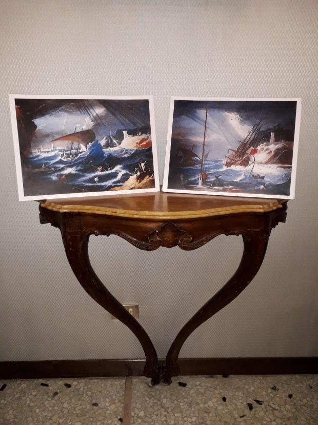 Donate due opere di Marco Ricci al Comune di Venezia