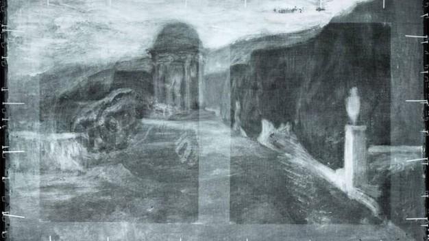 Scoperto uno strano disegno sotto un dipinto di Picasso