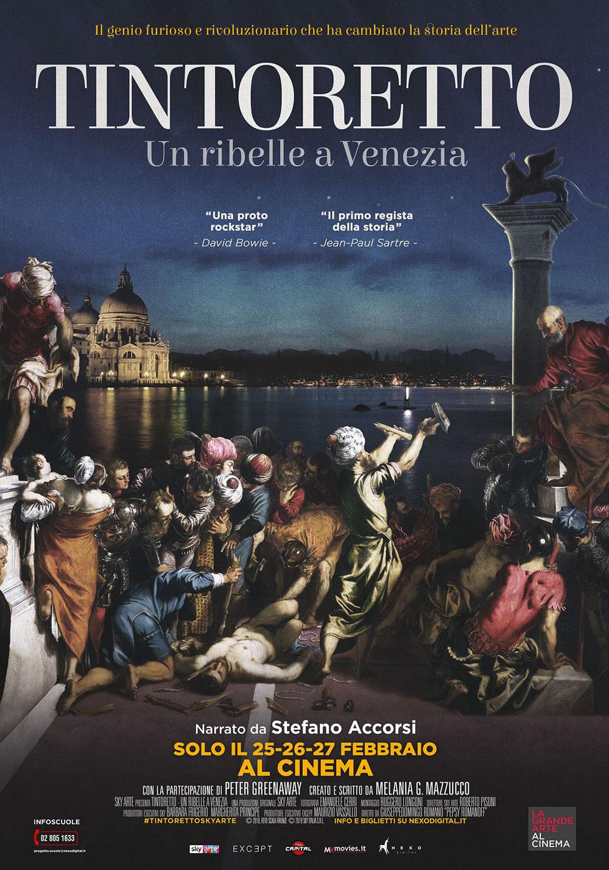 Anteprima: a febbraio nei cinema italiani il docu-film dedicato a Tintoretto