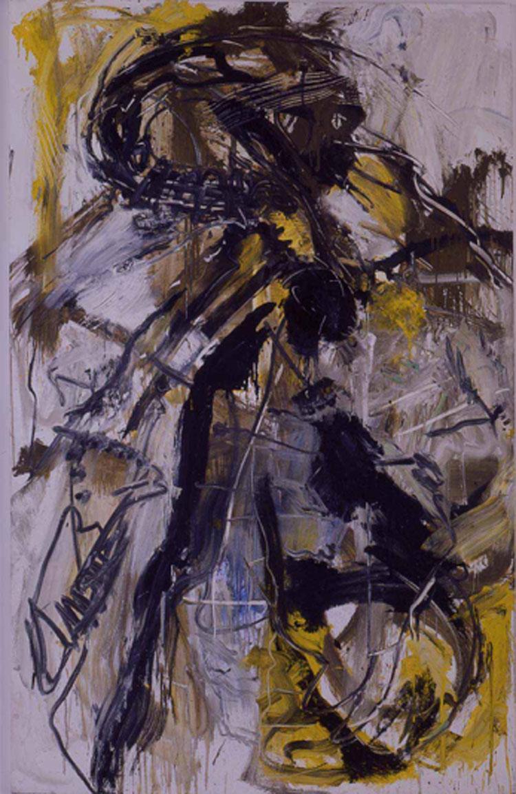 Da dove...(1984-1) di Emilio Vedova in trasferta ad Alba