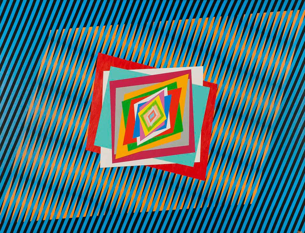 L'Optical art di Ferruccio Gard al Museo Boncompagni Ludovisi