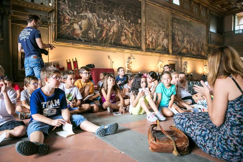A Firenze i bambini imparano l'inglese nei musei della città, attraverso le opere d'arte. 20 appuntamenti nei musei civici