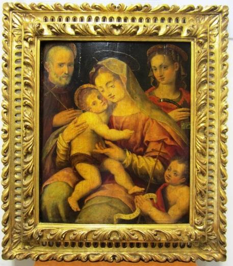 I carabinieri recuperano un prezioso dipinto del Cinquecento di Francesco del Brina