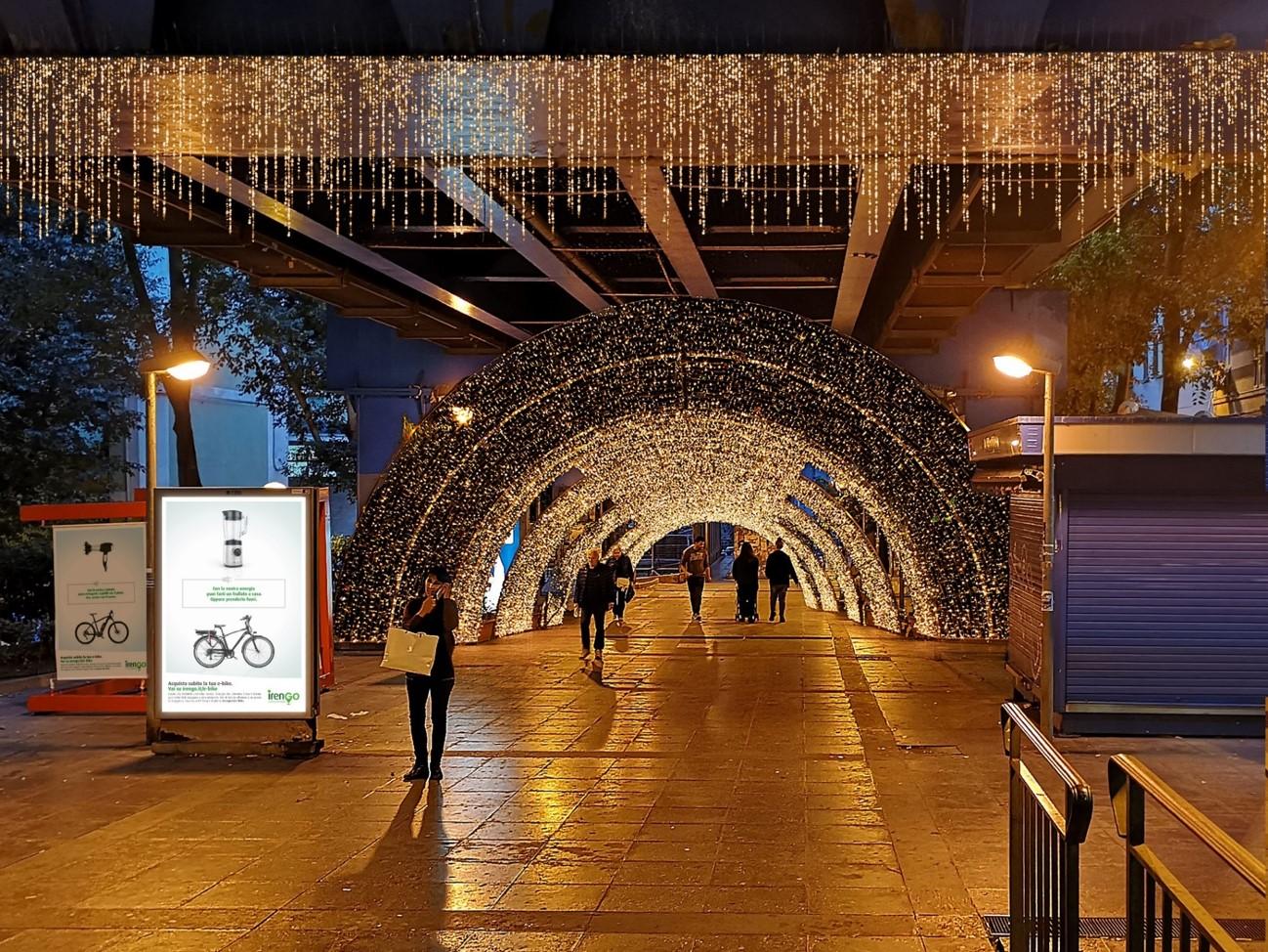 Genova ospita il tunnel di luci più lungo d'Europa, e unirà idealmente due aree divise dal crollo del ponte Morandi
