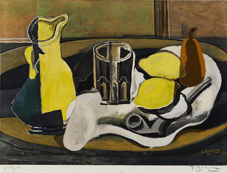 A Milano in mostra i capolavori grafici di Georges Braque