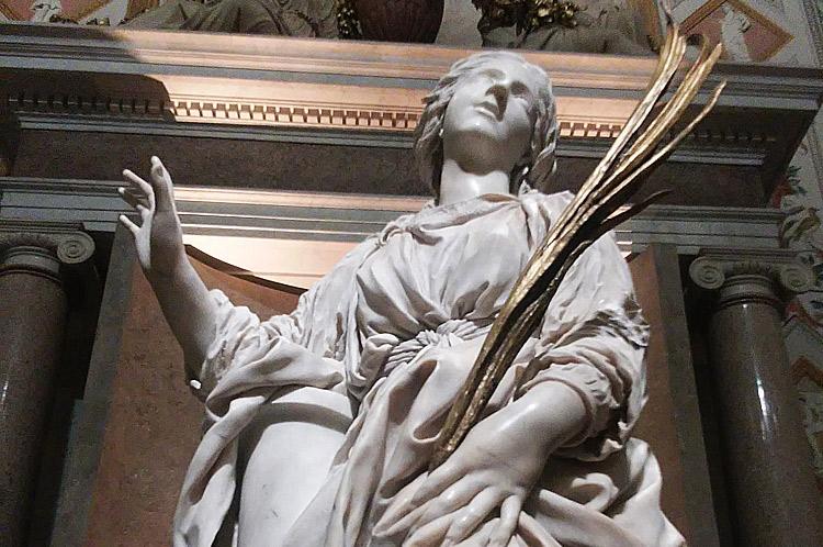 Gravissimo danno per la santa Bibiana di Bernini. Tomaso Montanari denuncia la perdita di un dito durante l'ultimo trasloco