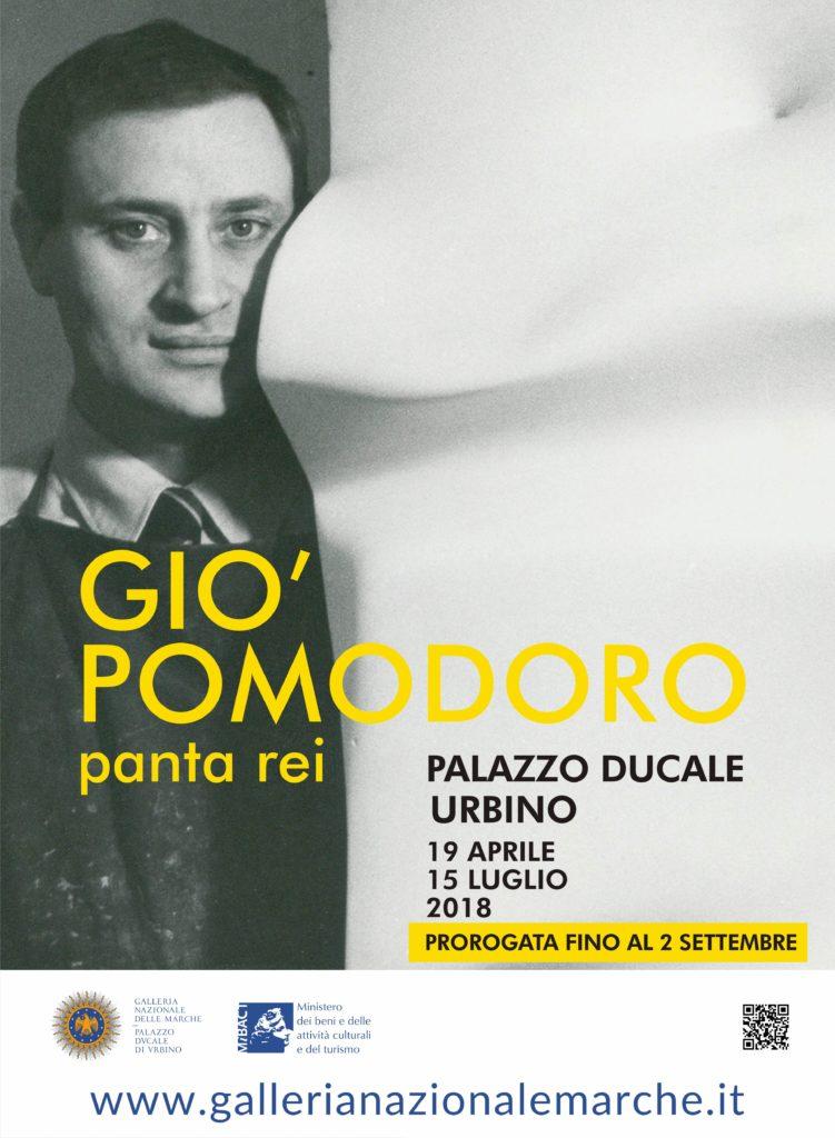 Prorogata la mostra dedicata a Gio' Pomodoro a Palazzo Ducale di Urbino