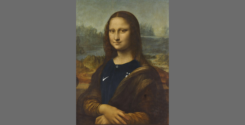 Il Louvre posta su Twitter la Gioconda con la maglia della nazionale francese per festeggiare la vittoria ai Mondiali