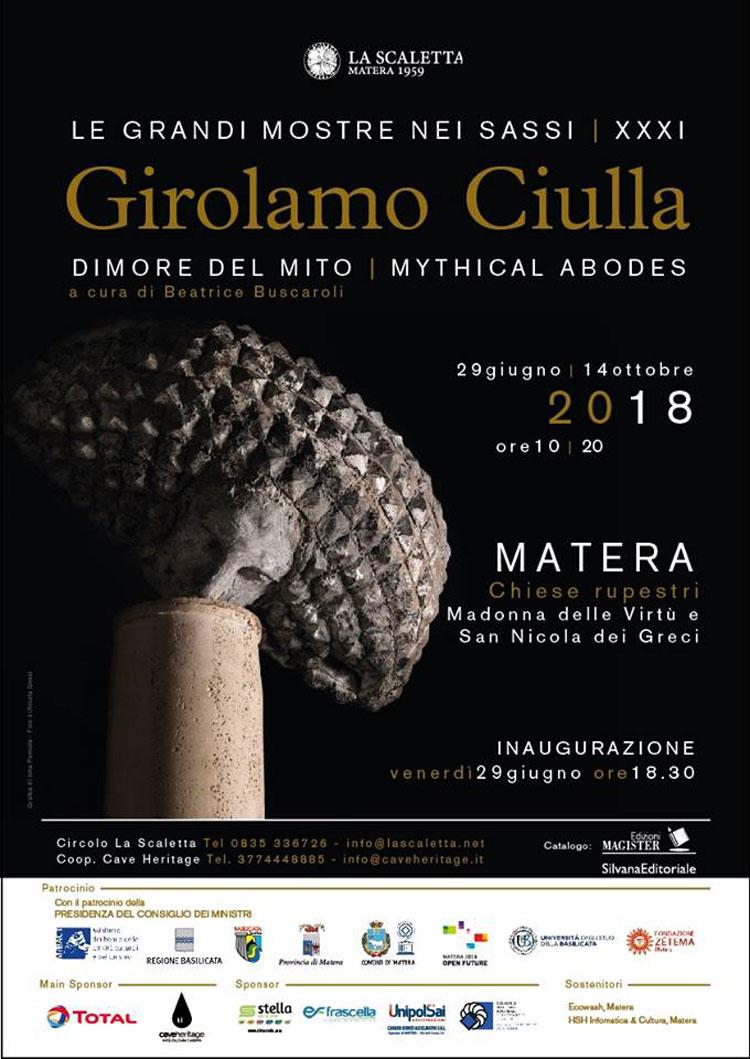 Nelle chiese rupestri di Matera in mostra le sculture di Girolamo Ciulla