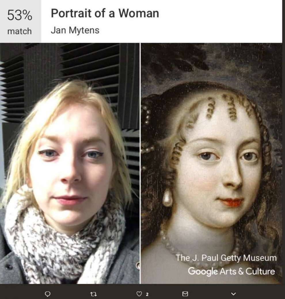 """Google lancia in Italia la funzione """"Art Selfie"""" per trovare il dipinto che più vi assomiglia"""