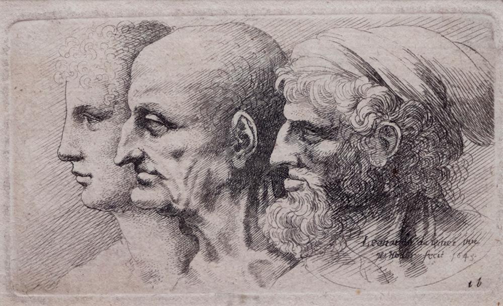 Leonardo da Vinci disegnato da Hollar: con le incisioni inedite via all'attività espositiva della Fondazione Pedretti