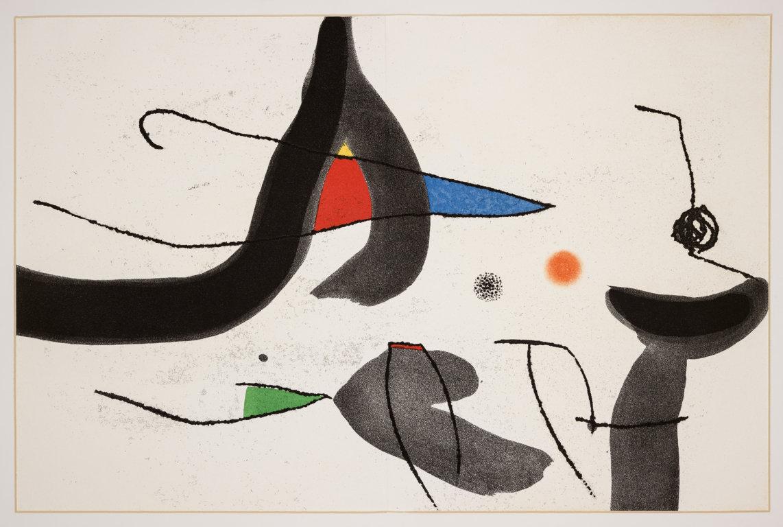 Le opere grafiche di Miró in mostra a Castiglione del Lago
