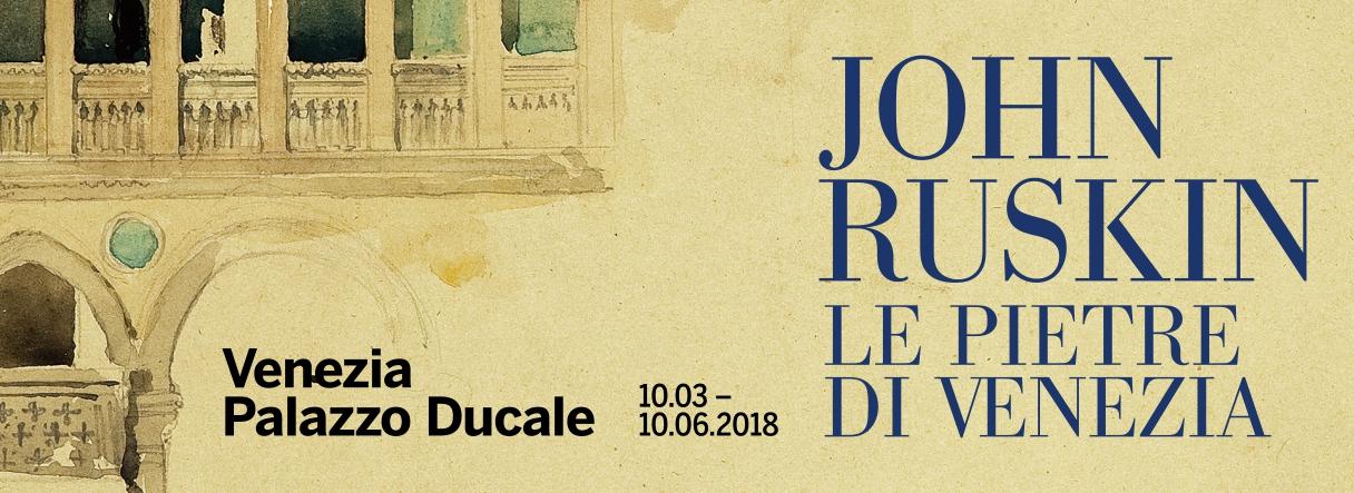 A Venezia, per la prima volta in Italia, una mostra su John Ruskin