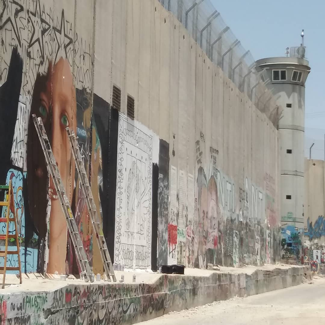 Rilasciato lo street artist Jorit Agoch, arrestato ieri in Cisgiordania