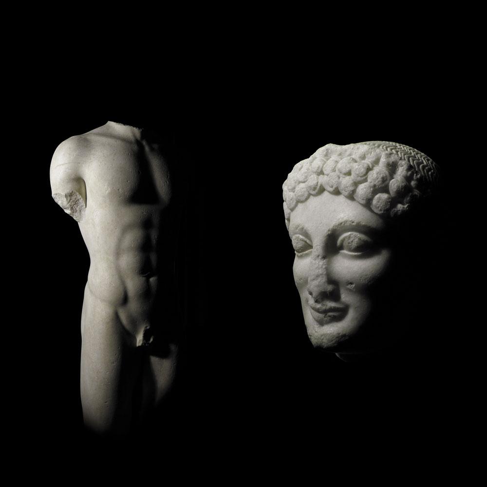 Il kouros ritrovato sarà al centro di una mostra a Palermo