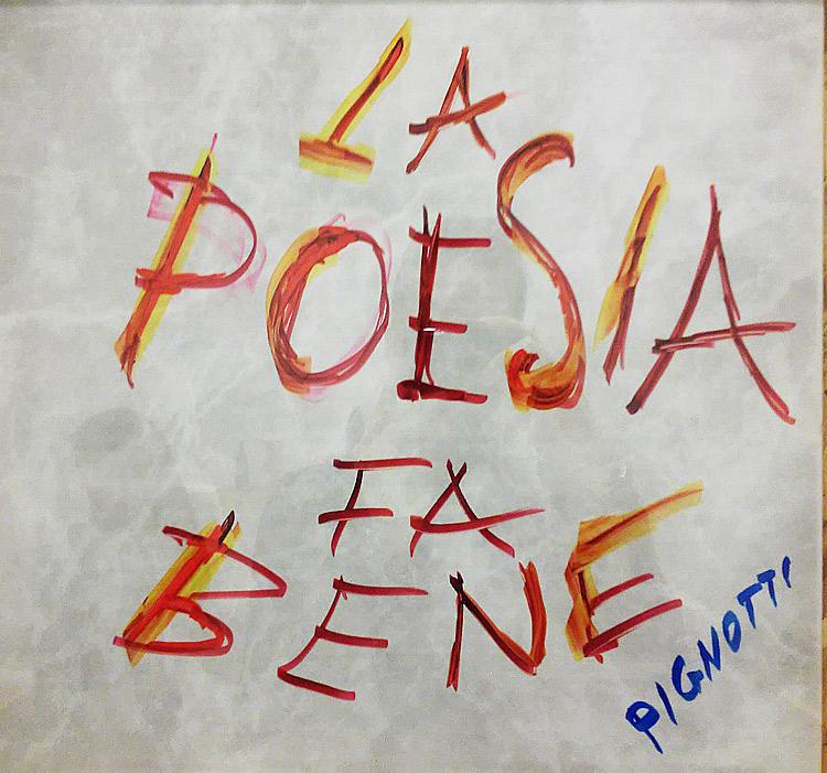 Da Maria Lai a Lamberto Pignotti, al CAMeC una rara mostra di ricerca sulla poesia visiva su ceramica