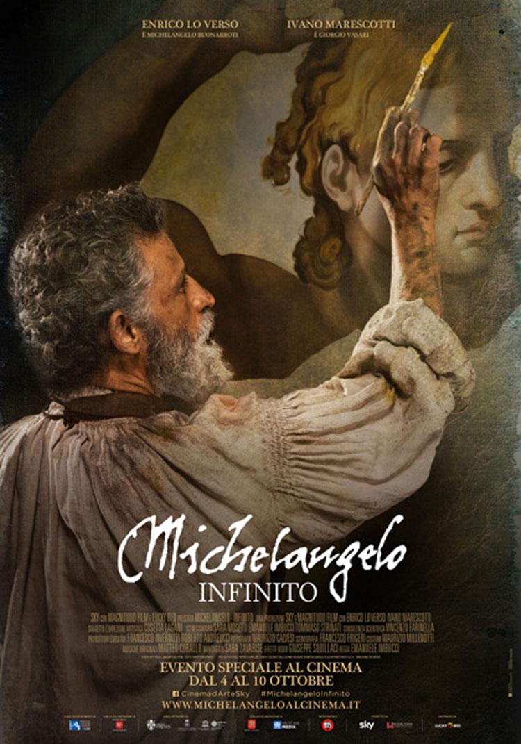 Michelangelo - Infinito: il film nei cinema ad ottobre