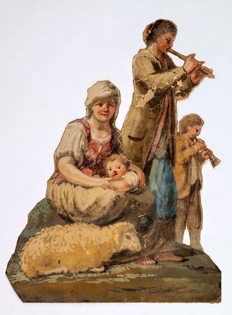 Milano, in mostra il ritrovato e inedito presepe settecentesco di Francesco Londonio