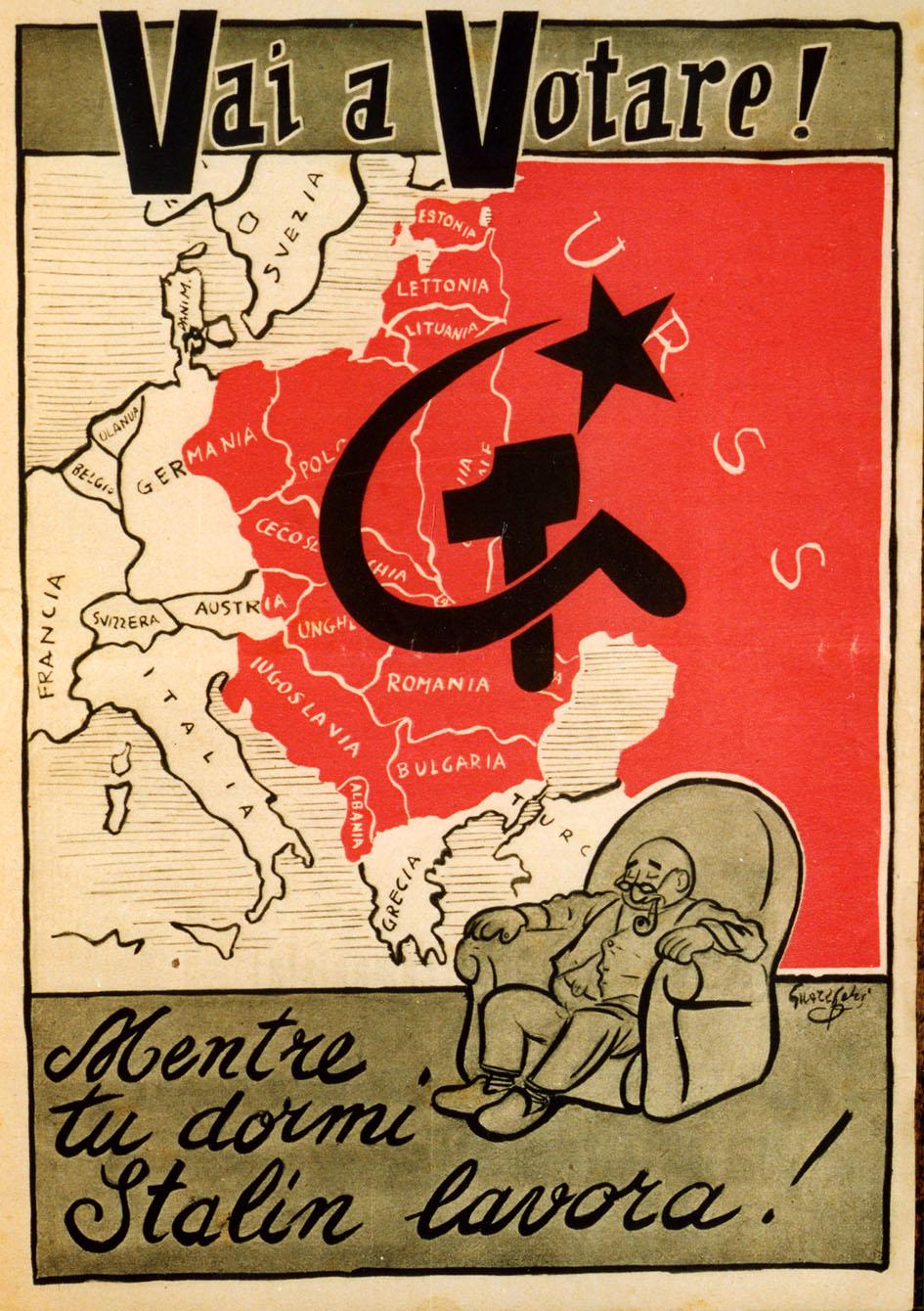 I manifesti elettorali del Dopoguerra sono in mostra a Vigevano