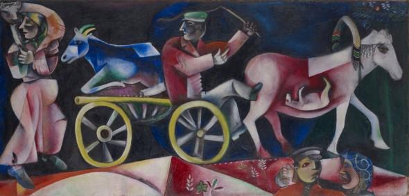 Una grande mostra su Chagall: 80 opere al Guggenheim di Bilbao
