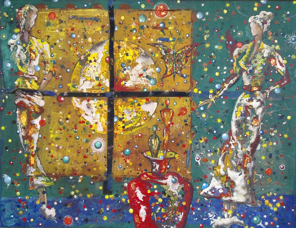 Le modelle cosmiche di Massimo Podestà in mostra a Lucca